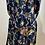 Thumbnail: Lotus Flower Navy Kimono or Robe