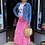 Thumbnail: Margo Hot Pink Maxi Skirt