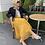 Thumbnail: Margo Mustard Maxi Skirt