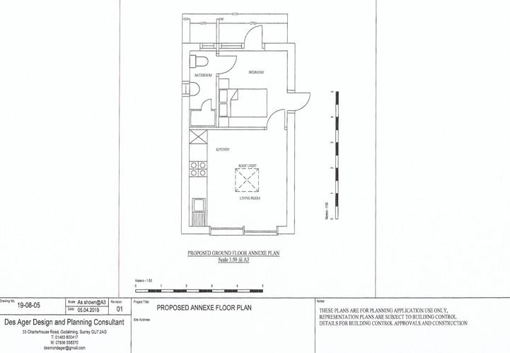 Granny annexe detailed plan