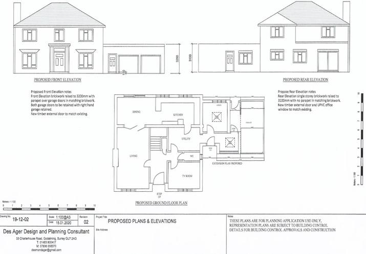 Garage office conversion plan