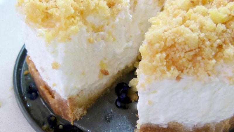 Crumble Cheese Cake