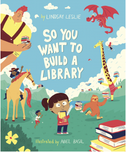 Who wouldn't want to build their own library!?