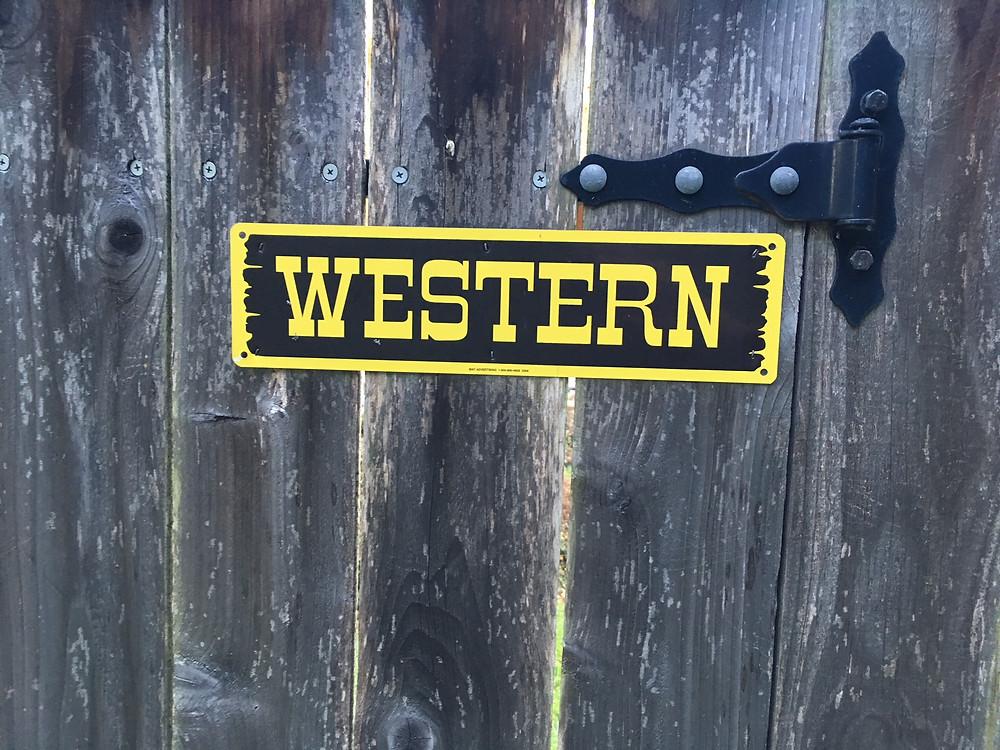 à la mode de l'ouest des Etats-Unis