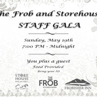 The Frob and Storehouse Staff Gala Invitation