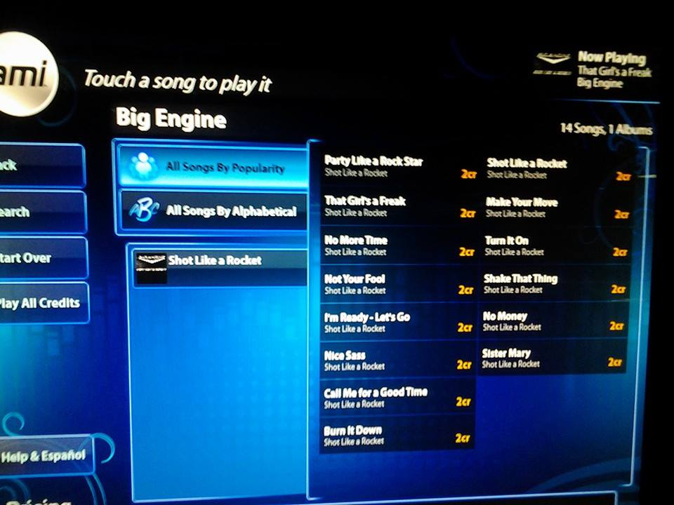 We are on ami jukeboxes!