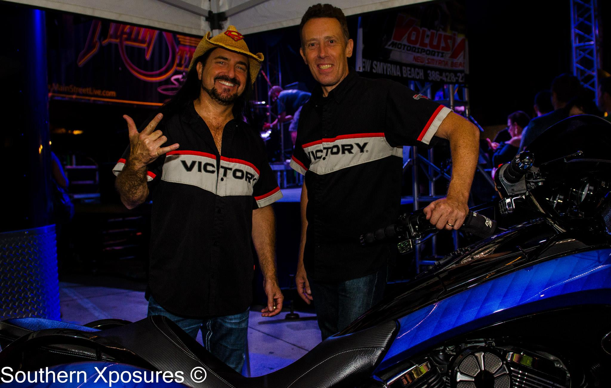 Tony with Andy from Volusia Motorsports