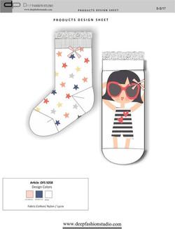 Deep Fashion Socks  (12)