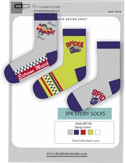 Deep Fashion Socks  (16)