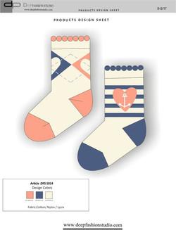 Deep Fashion Socks  (6)