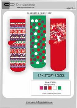Deep Fashion Socks  (24)