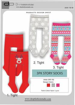 Deep Fashion Socks  (3)