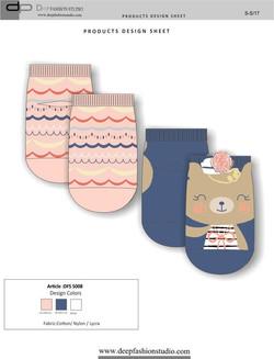 Deep Fashion Socks  (5)