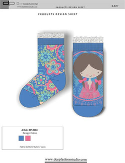 Deep Fashion Socks  (15)