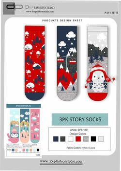 Deep Fashion Socks  (9)