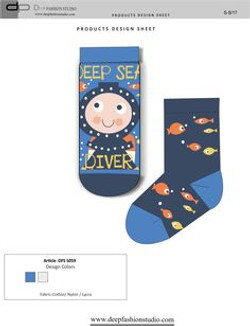 Deep Fashion Socks  (10)