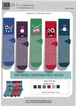 Deep Fashion Socks  (1)