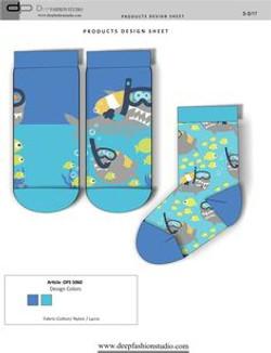 Deep Fashion Socks  (4)