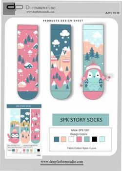 Deep Fashion Socks  (18)