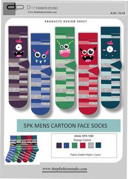 Deep Fashion Socks  (14)
