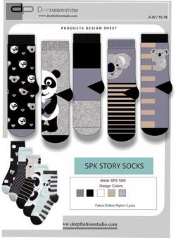 Deep Fashion Socks  (20)