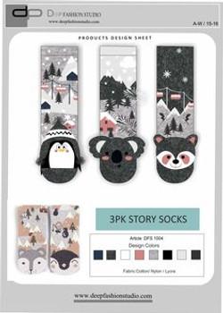 Deep Fashion Socks  (2)