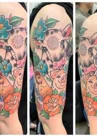 Vegan Animal Tattoo