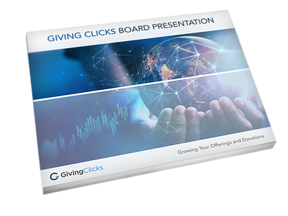 Giving Clicks Board Presentation