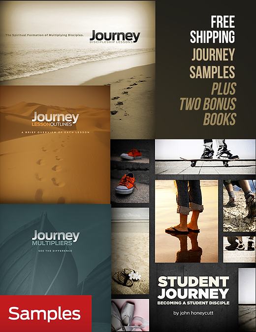 Journey and Student Journey Samples plus two booklets - Free Shipping