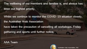 IMPORTANT ANNOUNCEMENT - Covid10