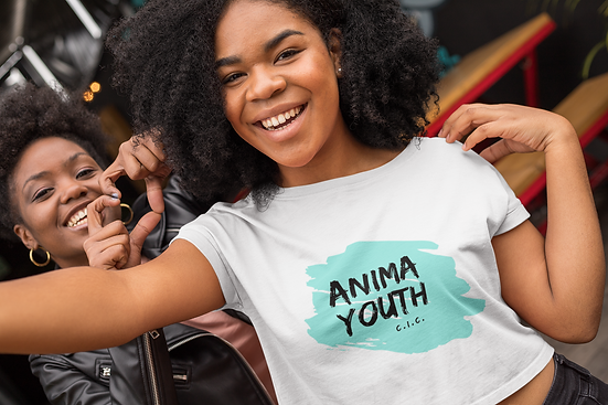 Anima Youth Logo Tshirt
