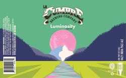 Luminosity Hazy IPA Label