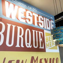Westside Taproom Word Wall