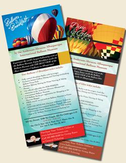 Ballon Museum Rack Cards