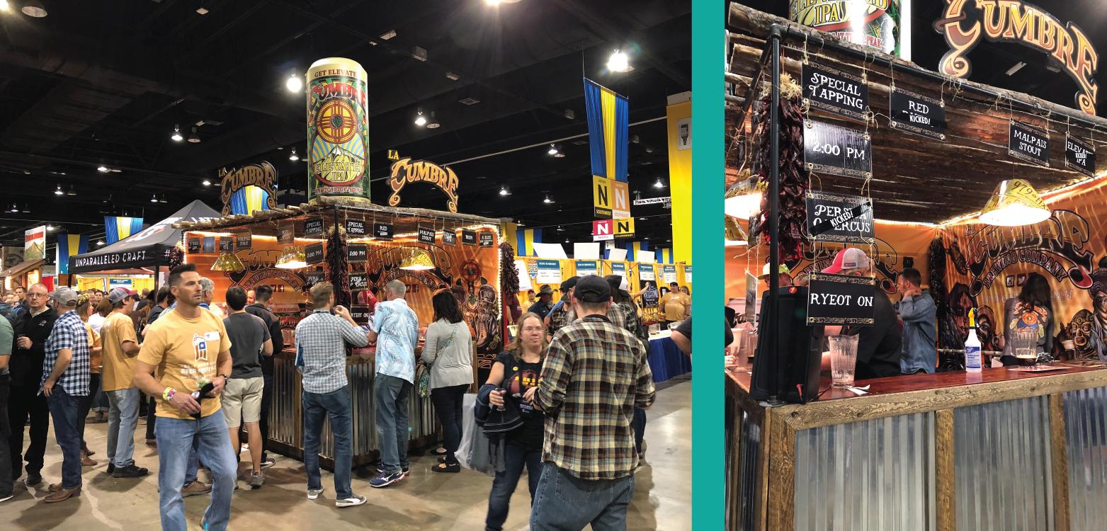 La Cumbre Great American Beer Fest Booth