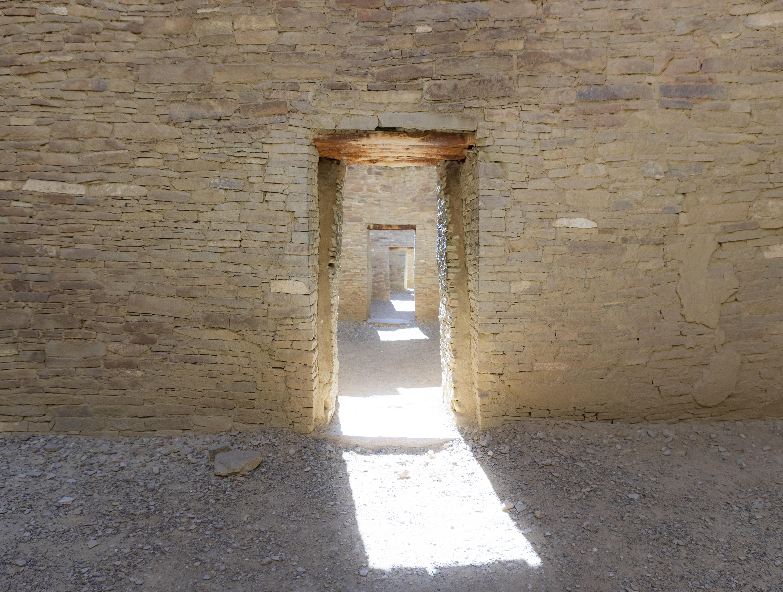 Chacoan Dwelling, Chaco Canyon.
