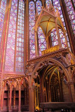 Sainte-Chapelle, Paris.