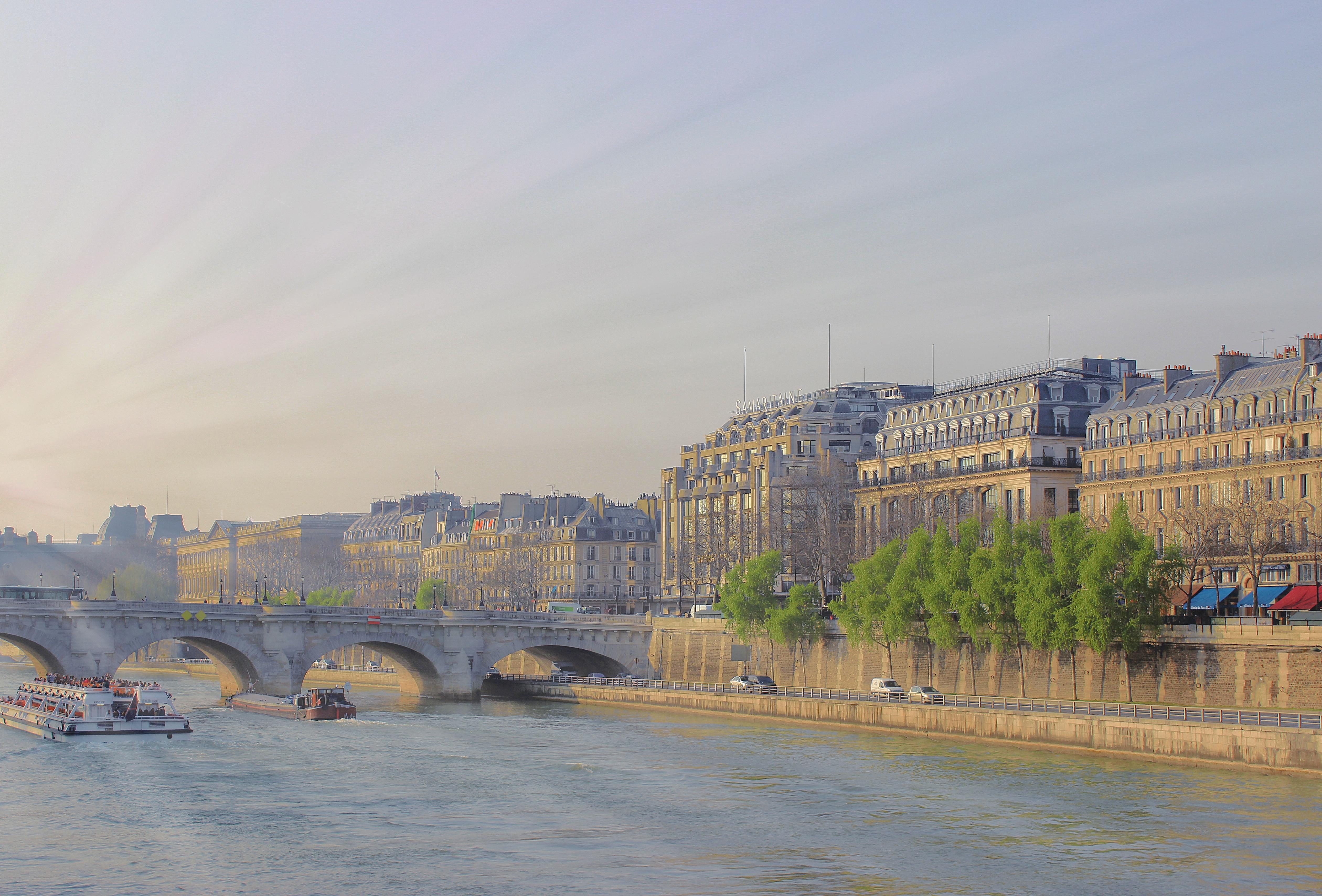 Seine Scene. Paris.