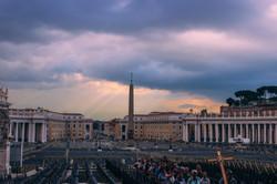 Pilgrimage. Piazza San Pietro, Rome