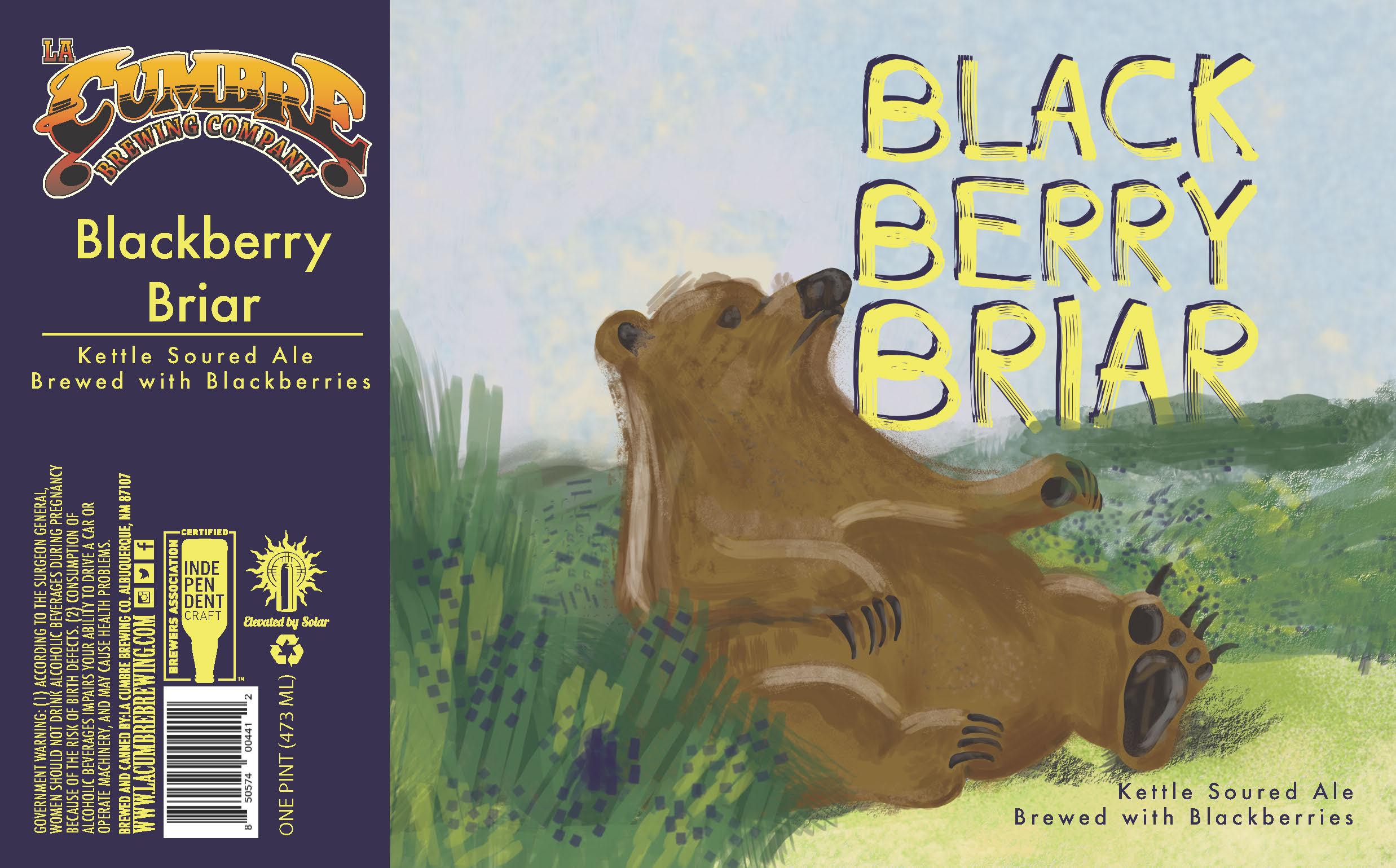 blackberry briar label