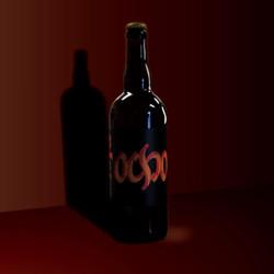 Ocho 8 year logo and bottle label for La