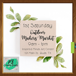 1st Saturday Outdoor Makers' Market-2.pn