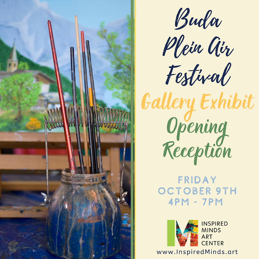 Buda Plein Air Exhibit Opening Reception