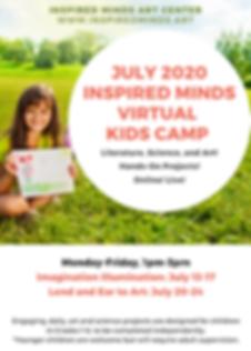 July IMAC Virtual Summer Camp Flyer-2.pn