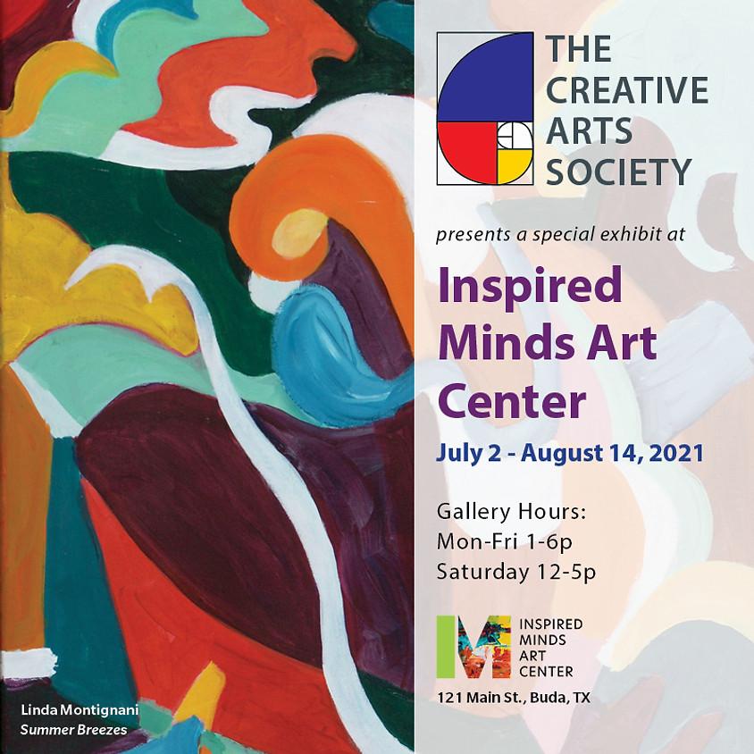 Closing Reception: Creative Arts Society Gallery Exhibit