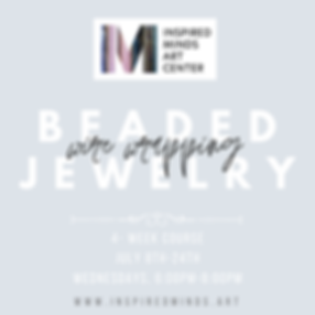 Beaded wire wrapping jewelry Instagram P