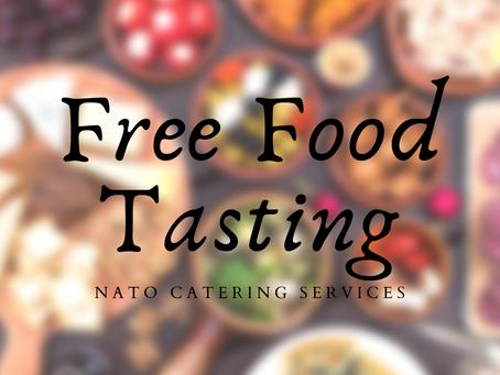 FREE FOOD TASTING