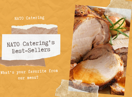 NATO Catering's Best-Sellers