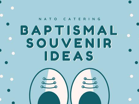 Baptismal Souvenir Ideas!
