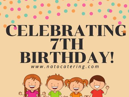Celebrating 7th Birthday!